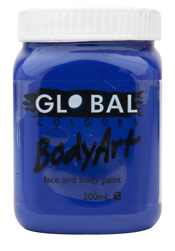 Body Art 200ml Jar - ULTRA BLUE