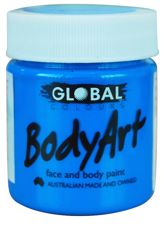 Body Art 45ml Jar - FLUORO BLUE