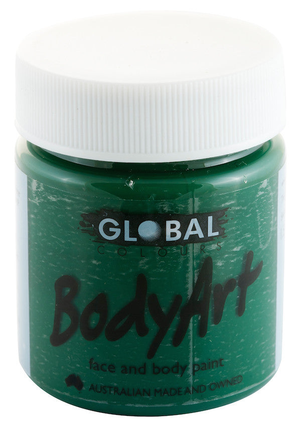 Body Art 45ml Jar - DEEP GREEN