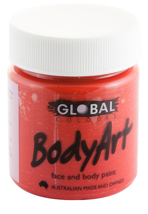 Body Art 45ml Jar - BRILLIANT RED
