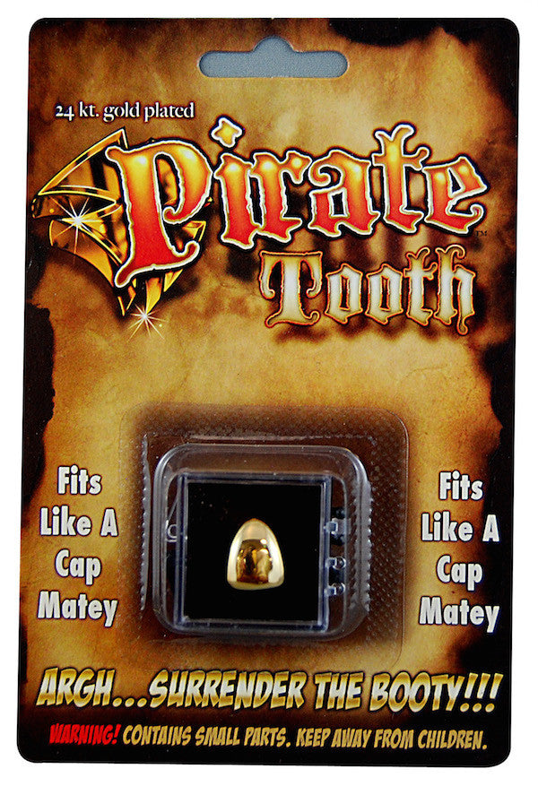 Gold Pirate Tooth