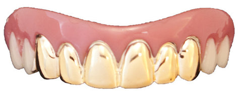 Billy Bob Teeth - Gold Veneers
