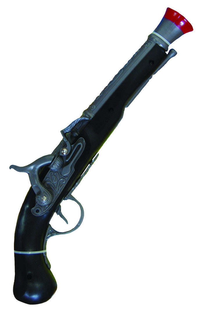 Pirate Pistol 33cm - Black/Silver