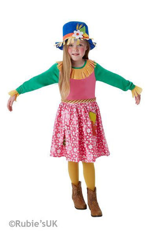 MRS SCARECROW, CHILD - SIZE LG (9-10 YEARS)