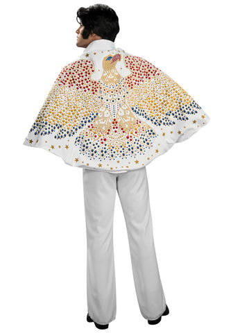 ELVIS CAPE, ADULT - ONE SIZE FITS ALL