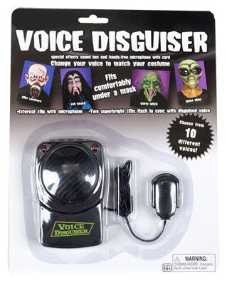 Voice Disguiser - 10 Different Voices