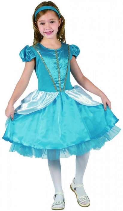 Blue Fairytale Princess - Child - Mediu