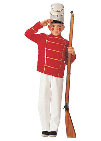 WOODEN TOY SOLDIER COSTUME, CHILD