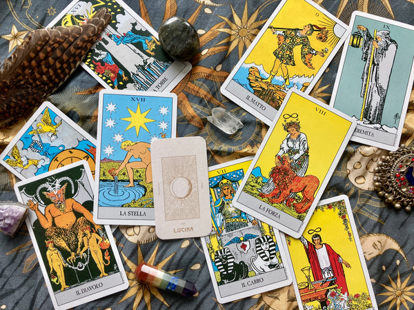 Introducing Casa Lucina Tarot collection