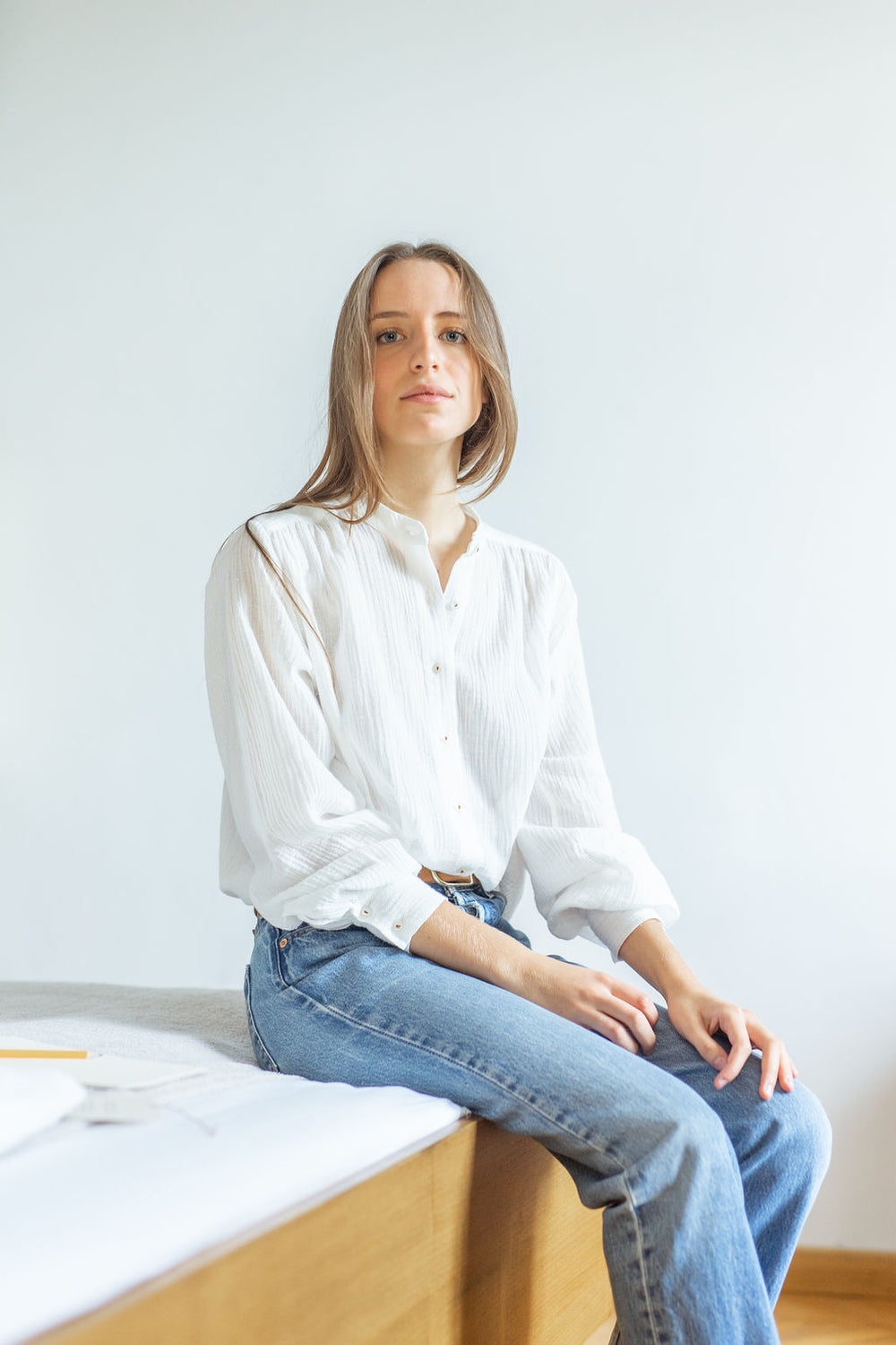 Bohemienne Shirt in White