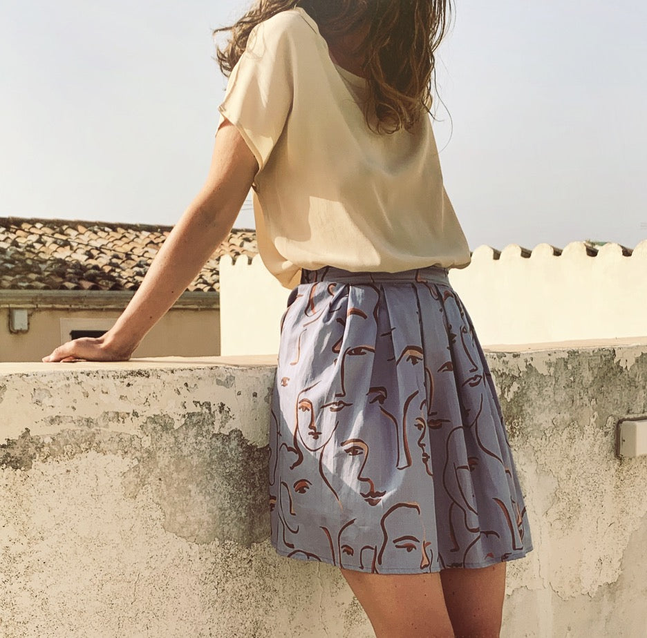 Ada Skirt in Portrait
