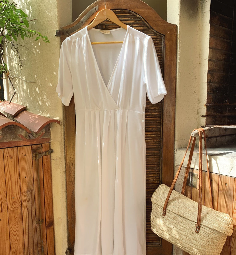 Bianca Dress in White