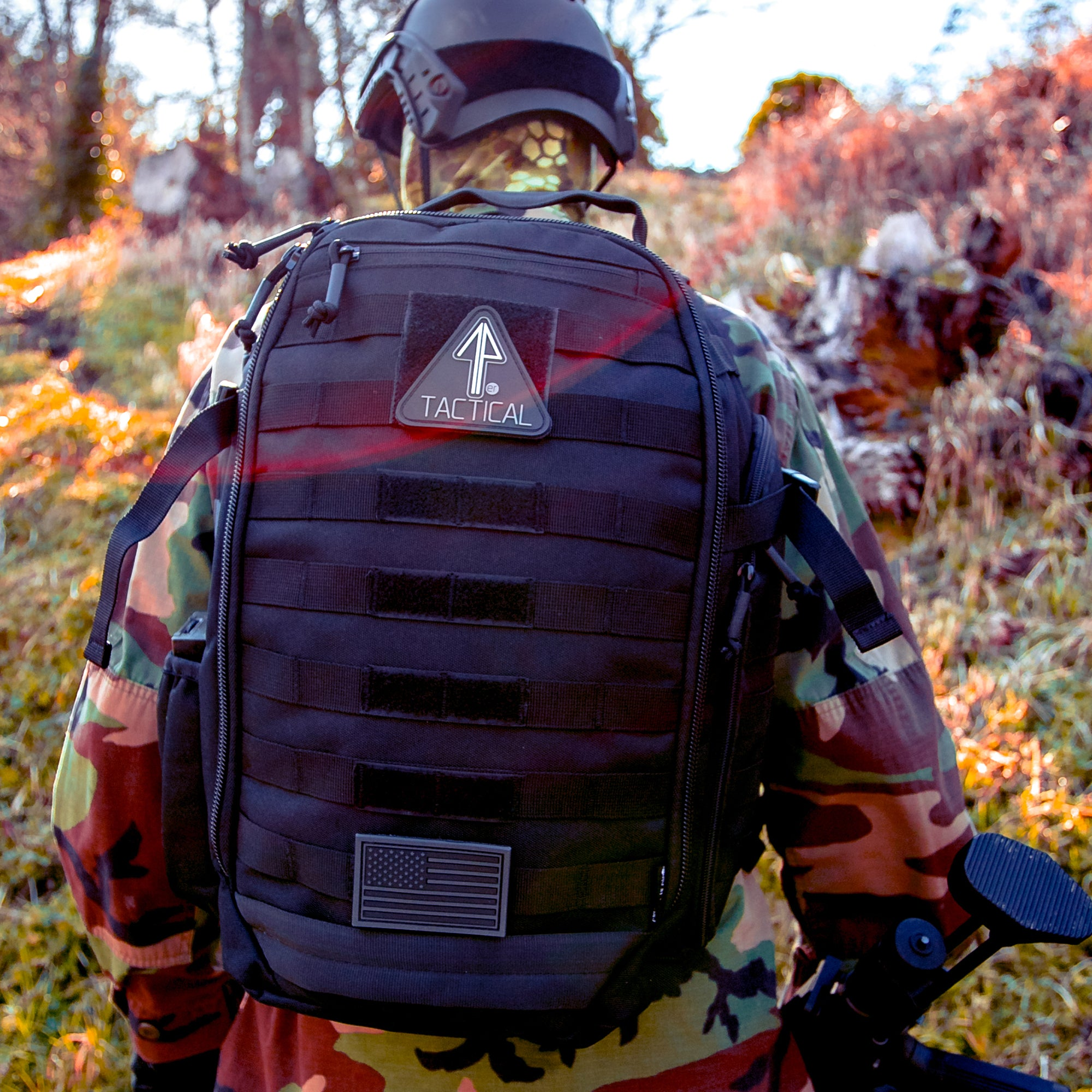 14er Tactical Backpack worn by soldier
