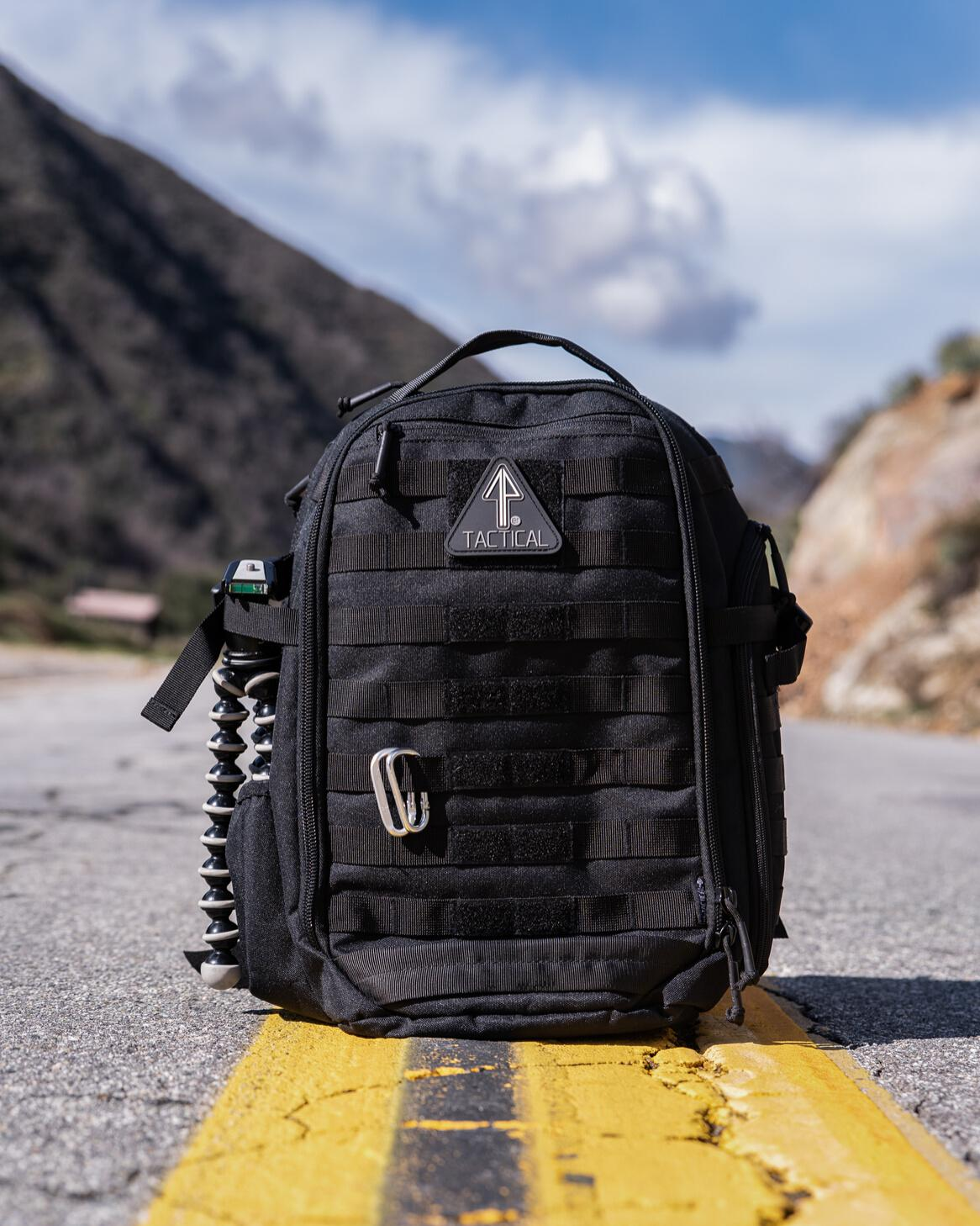 A 14er Tactical backpack is well-cleaned and maintained.