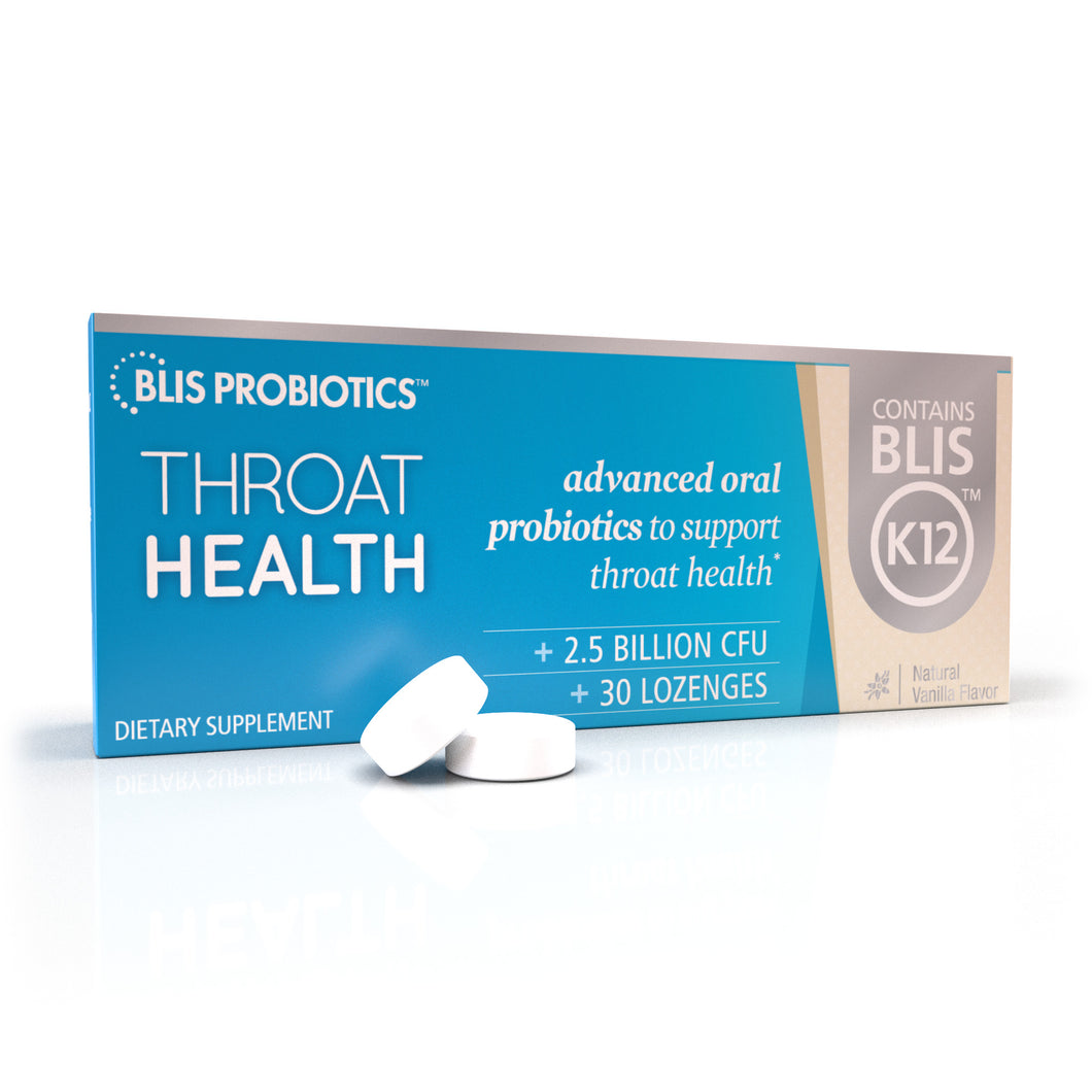 Throat Health - oral probiotics to support immunity