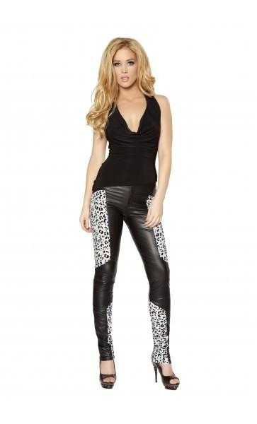 2978 Black/Silver (Pants) - Roma Costume Pants,Blowout Sale - 1
