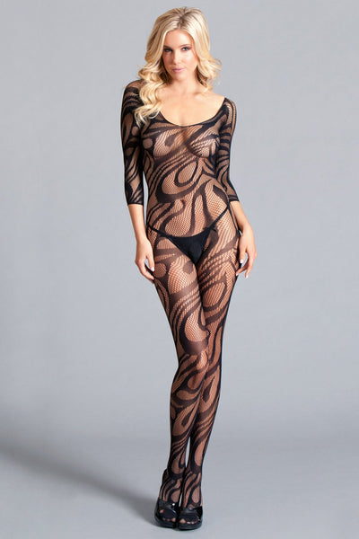 Body Stocking Crotchless Long Sleeve