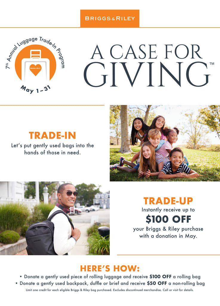 Briggs & Riley - A Case for Giving