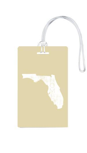 612 My Home State Florida Luggage Tag-Luggage Pros