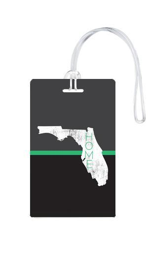 612 My Home State Florida Luggage Tag