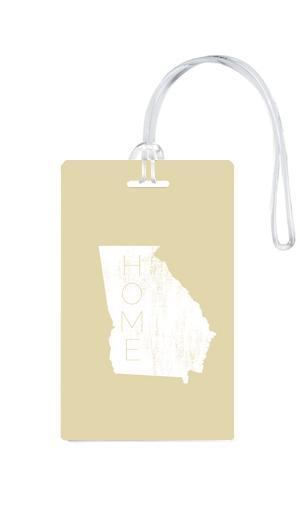 612 My Home State Georgia Luggage Tag-Luggage Pros