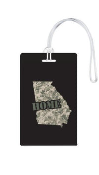 612 My Home State Georgia Luggage Tag