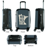 "612 My Home State Minnesota 20"" Carry-On-Luggage Pros"