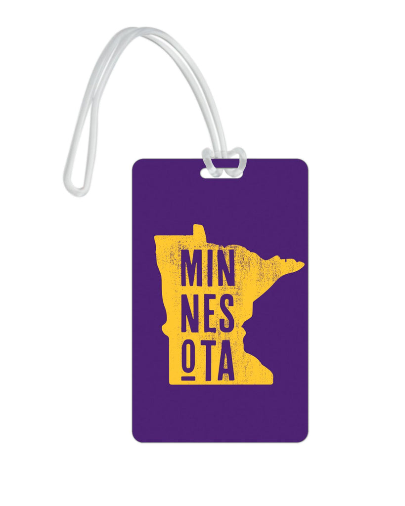 612 My Home State Minnesota Luggage Tag