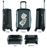 "612 My Home State New Jersey 20"" Carry-On-Luggage Pros"