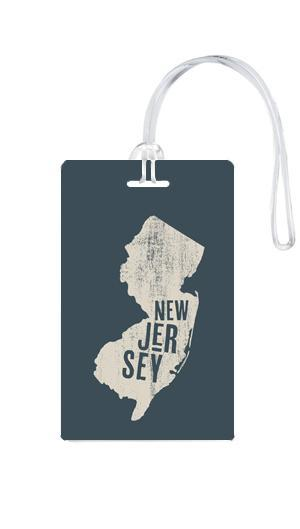 612 My Home State New Jersey Luggage Tag-Luggage Pros