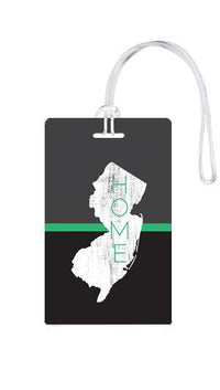 612 My Home State New Jersey Luggage Tag