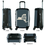 "612 My Home State New York 24"" Checked Bag-Luggage Pros"