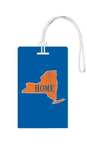 612 My Home State New York Luggage Tag-Luggage Pros