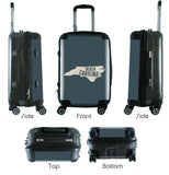 "612 My Home State North Carolina 20"" Carry-On-Luggage Pros"