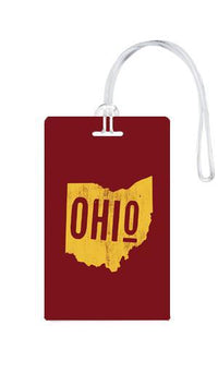612 My Home State Ohio Luggage Tag