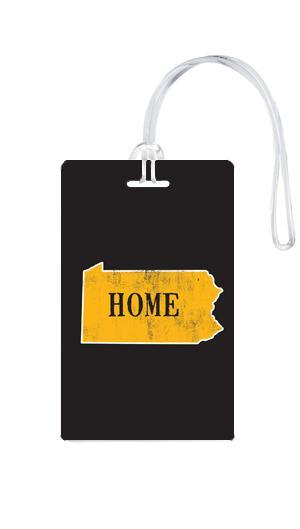 612 My Home State Pennsylvania Luggage Tag-Luggage Pros