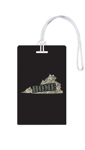 612 My Home State Virginia Luggage Tag-Luggage Pros
