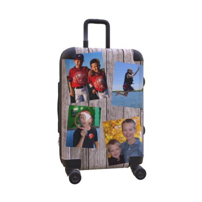 MyFly Bag Personalized Carry-On Luggage - Barn Wood