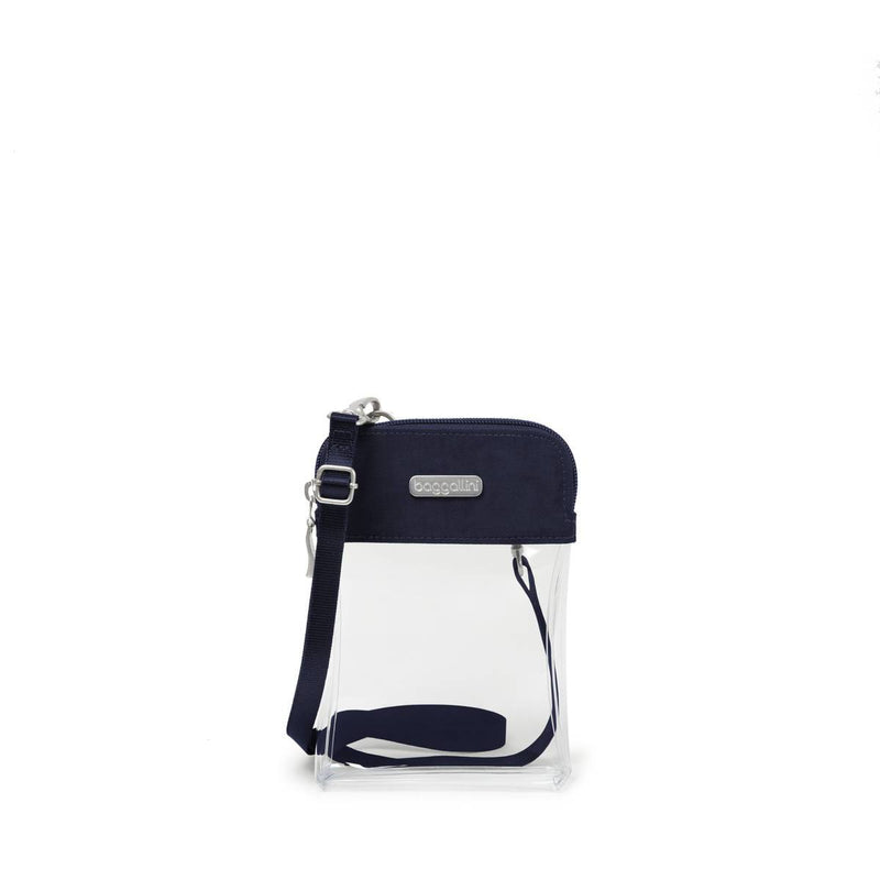 Baggallini Legacy Clear Event Compliant Bryant Crossbody-Luggage Pros