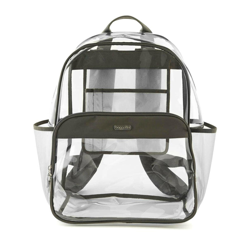Baggallini Legacy Clear Event Compliant Large Backpack-Luggage Pros