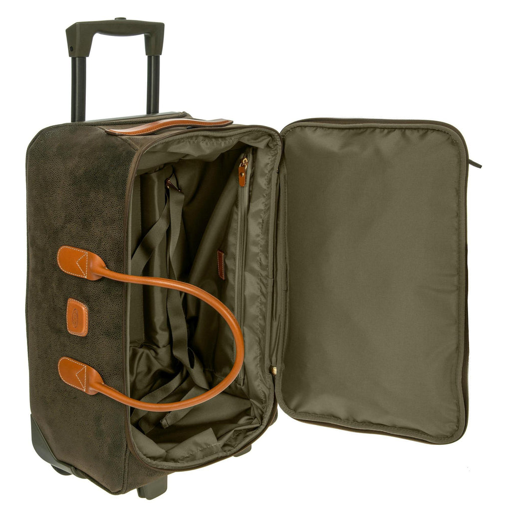 Brics Life 21'' Carry-On Rolling Duffle