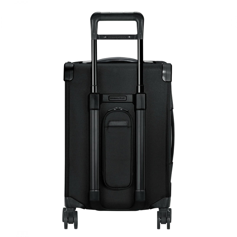 Briggs & Riley Baseline Chrome Domestic Carry-On Expandable Spinner - Navy-Luggage Pros