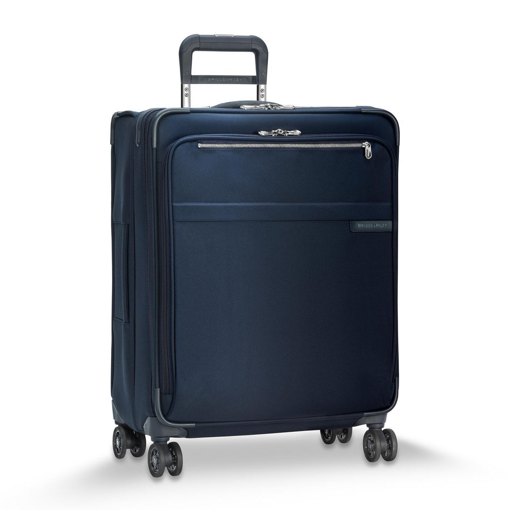 Briggs & Riley Baseline Chrome Medium Expandable Spinner - Navy