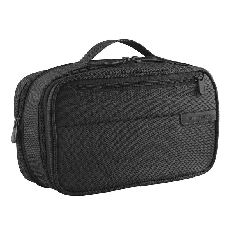 Briggs & Riley Baseline Expandable Toiletry Kit - Black-Luggage Pros