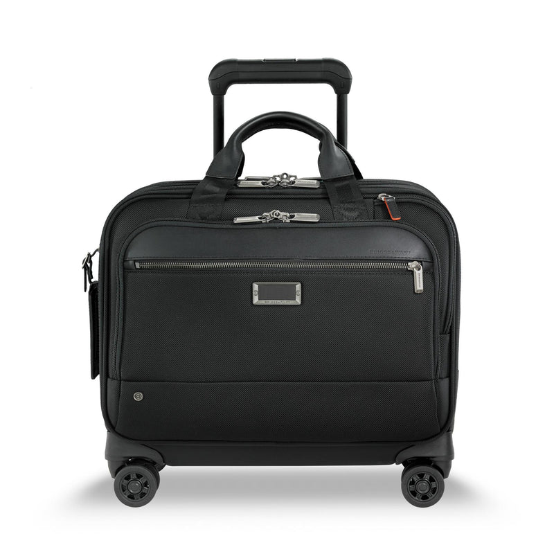 Briggs & Riley @Work Medium Spinner Brief - Black-Luggage Pros