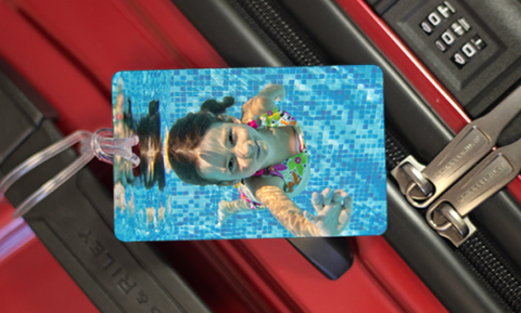 MyFly Personalized Luggage Tag - Horizontal