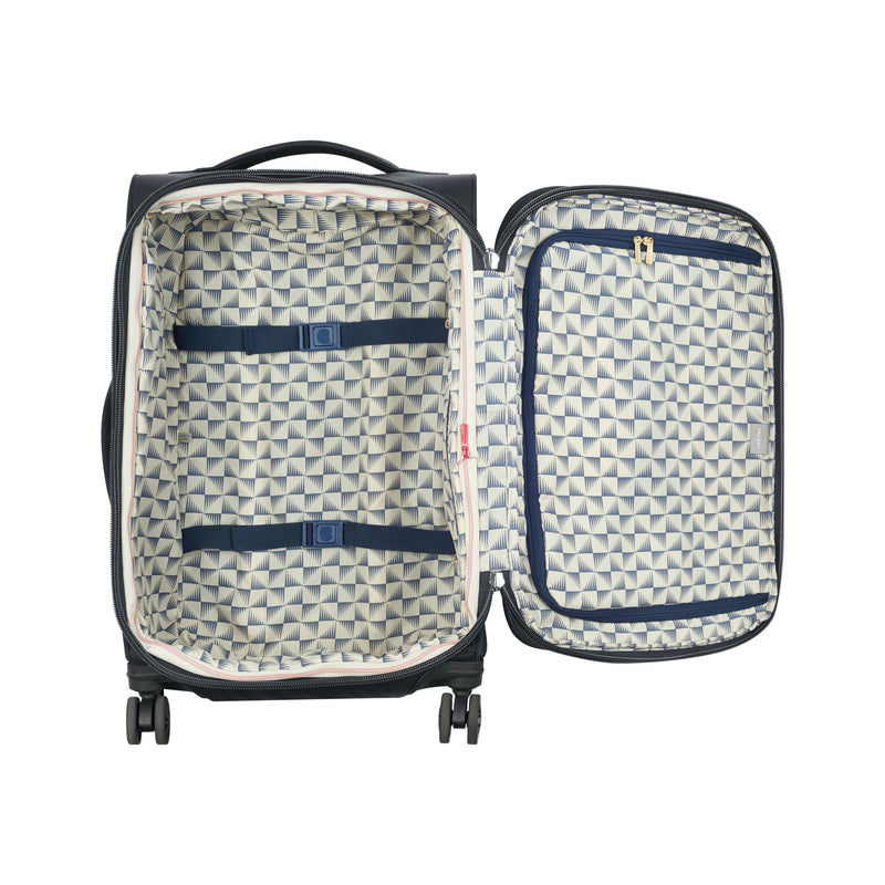 Delsey Montrouge Expandable Carry-On Spinner-Luggage Pros