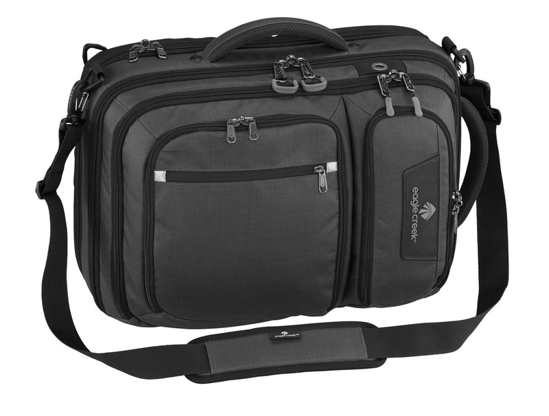 Eagle Creek Exploration Series Convertabrief - Asphalt Black-Luggage Pros