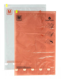 Eagle Creek Pack-It Compression Sac Set M/M - Clear/Flame Orange