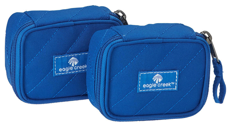 Eagle Creek Pack-It Original Quilted Mini Cube Set - Blue Sea-Luggage Pros